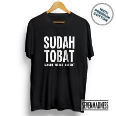 Harga Kaos Distro Pria Wanita Dakwah Islam Muslim Sudah Tobat Branded
