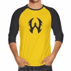 Spesifikasi Kaos Distro Raglan Walexa Clasic Original Kuning Baru