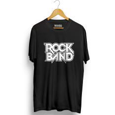 Spesifikasi Kaos Distro Rock Band T Shirt Hitam Yg Baik