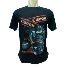 Kaos distro spandek fashion pria dan wanita motif CANON