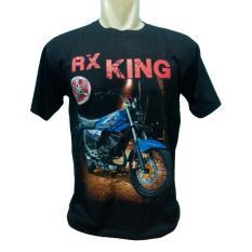 Kaos distro spandek fashion pria dan wanita motif RK-KING