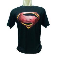 Kaos distro spandek fashion pria dan wanita motif SUPERMAN