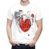 Toko Baxbixbux Kaos Superhero Kaos Pria Kaos Polos Kaos Murah Kaos Grosir Kaos Atasan Kaos Untuk Santai Kaos Distro Spiderman Robek Putih Terlengkap Banten