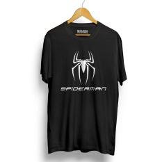Katalog Kaos Distro Spiderman T Shirt Hitam Terbaru