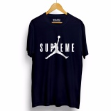 Toko Kaos Distro Supreme T Shirt Navy Lengkap
