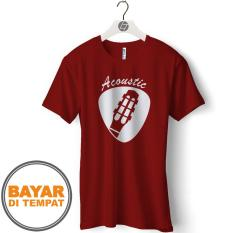 Iklan Kaos Distro T Shirt Pria Gitar Guitar Gcp01