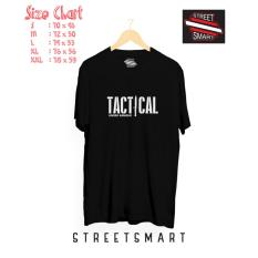 Review Kaos Distro Tactical Cotton Combed 30S Hitam Kaos
