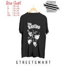 Promo Kaos Distro The Beatles Black Di Banten
