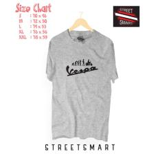 Beli Kaos Distro Vespa Cotton Combed 30S Baru
