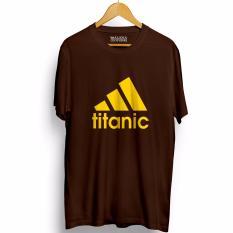 Harga Kaos Distro Walexa Titanic Lengan Pendek Premium Asli Walexa Clothing