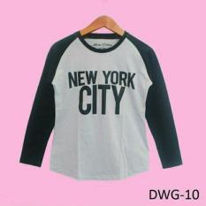 Kaos Distro Wanita Dewasa Lengan Panjang Motif New York – DWG10