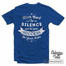 Beli Kaos Distro Work Hard In Silence Kredit Dki Jakarta