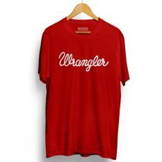 Toko Kaos Distro Wrangler T Shirt Red Dekat Sini