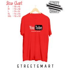 Beli Kaos Distro Youtube Cotton Combed 30 S Kaos Murah