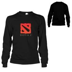 Kaos Dota 2 T-Shirt  Lengan Panjang - Hitam