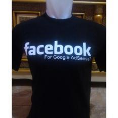 Kaos Facebook For Google Adsense Keren