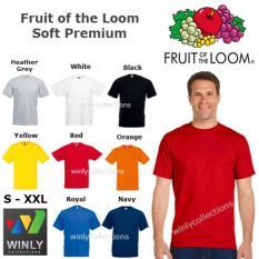 Kaos FOTL Fruit Of The Loom Soft Premium Import ORIGINAL