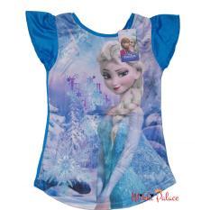Jual Disney Original Kaos Frozen Elsa Frozen Heart Blue Ori