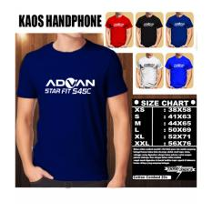 Kaos Gadget HP Distro Baju T-Shirt Handphone ADVAN Star Fit S45C