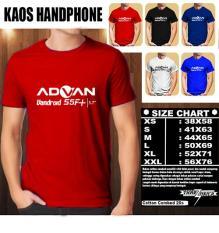 Kaos Gadget HP Distro Baju T-Shirt Handphone ADVAN Vandroid S5F+