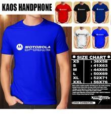 Kaos Gadget HP Distro Baju T-Shirt Handphone Handphone MOTOROLA Droid Ultra Logo Font