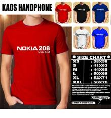 Kaos Gadget HP Distro Baju T-Shirt Handphone Handphone NOKIA 208 DUAL