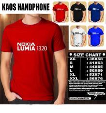 Kaos Gadget HP Distro Baju T-Shirt Handphone Handphone NOKIA LUMIA 1320