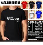 Harga Kaos Gadget Hp Distro Baju T Shirt Handphone Samsung Galaxy S7 Edge Font Asli Multi