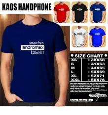 Kaos Gadget HP Distro Baju T-Shirt Handphone SMARTFREN ANDROMAX TAB 8.0