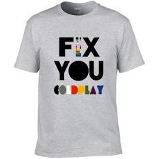 Kaos Gildan Softstyle Coldplay Fix You Quote Di Dki Jakarta
