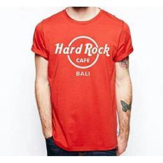 Kaos Hard Rock Caffe Bali-Merah