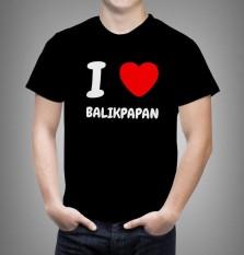 Kaos I LOVE Balikpapan Big Size Uk XL - 4XL ( 23 Warna )