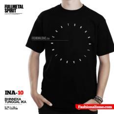 Kaos Indonesia BHINNEKA TUNGGAL IKA INA-10 Fullmetalspirit