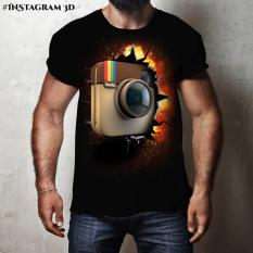 Kaos Instagram 3D