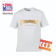 Kaos JP Jual Kaos Jualkaos murah / Terlaris / Premium / tshirt / katun import / lelinian / terkini / keluarga / pasangan / pria / wanita / couple / family / anak / surabaya / Thrasher / GOLD
