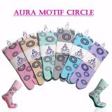 Toko Kaos Kaki Jempol Motif Circle 6 Pasang Termurah