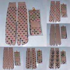 Jual Kaos Kaki Jempol Motif Paket 1 Lusin Giga Socks Grosir