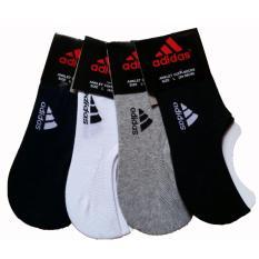 Jual Kaos Kaki Pria Hidden Socks Invisible Socks Polos Dengan Gel Anti Slip 3 Pasang Baru