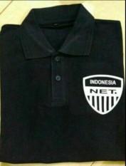 Kaos Kerah Polo Shirt 4XL XXXXL NET TV L 75X P 82 Terbaru Paling Besar