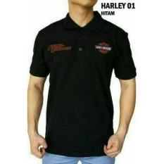 Kaos Kerah Polo Shirt Baju HARLEY DAVIDSON