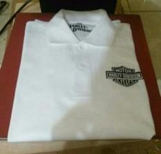 Kaos Kerah Polo Shirt Harley Davidson Simple Dan Elegant