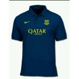 Spesifikasi Kaos Kerah Polo Shirt Polo Barcelona Terbaru Terbaru