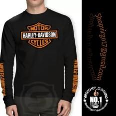 Kaos Lengan Panjang Harley Davidson
