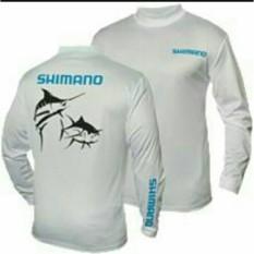 Kaos Lengan Panjang  Long Sleeve SHIMANO FISHING  Mancing Mania