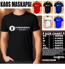 Kaos Logo Maskapai Baju Distro T-Shirt Pesawat HAWAIIAN AIRLINES LOGO HORIZONTAL