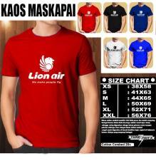 Toko Kaos Logo Maskapai Baju Distro T Shirt Pesawat Lion Air Multi Online