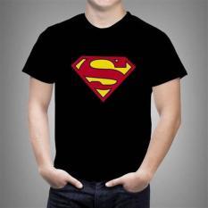 Kaos Logo Superman 2 Ukuran Anak Dan Dewasa ( 0 - L )