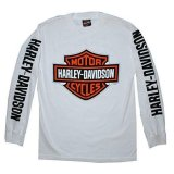 Jual Beli Kaos Long Sleve Harley Davidson Motor Cycles White Version Best Quality Int One Size Overseas Jawa Barat