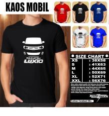 KAOS MOBIL Distro Baju T-Shirt Otomotif DAIHATSU LUXIO SILUET TAMPAK DEPAN