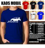Review Kaos Mobil Distro Baju T Shirt Otomotif Honda All New Jazz Rs Siluet Tampak Samping Multi Di Indonesia